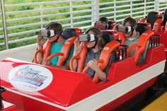 SIX FLAGS ST LOUIS - NEW VIRTUALITY ROLLER COASTER  EUREKA, MO (STL.News - ) Six Flags St Louis is The Coaster Capital of Missouri, in Eureka, MO just west of St Louis. Six Flags partnered with Samsung Electronics America, to open its first virtua...
