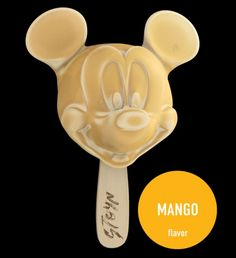 Mickey Mouse ice cream by Stoyn