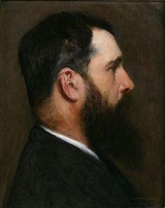 Claude Monet - Portrait of John Singer Sargent, 1889                                                                                                                                                      More