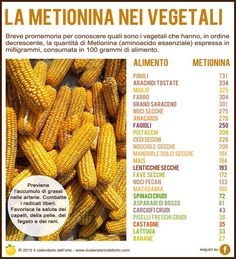 La metionina nei vegetali