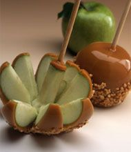 The most delicious caramel apples on the planet!  #rockymountainchocolatefactory