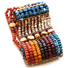 Multicolored Beaded Bracelet