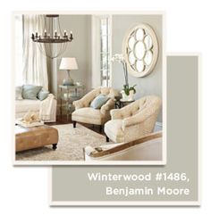 Catalog Paint Colors | Ballard Designs Style Studio ~ Benjamin Moore Winterwood