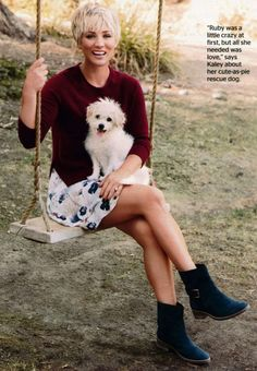 Kaley Cuoco - Redbook Magazine (February 2015) adds