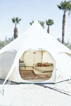 Now Here's a Glamping Experience We Can All Get Behind via MyDomaine #yurt::