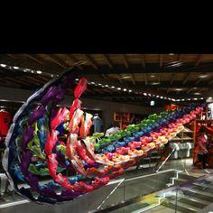 #Nike art work by Harajuku