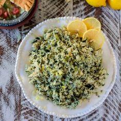Spanakorizo (Greek Spinach Rice) - Olivia's Cuisine