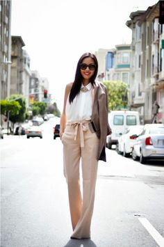 Summer Outfit Ideas for linen pants