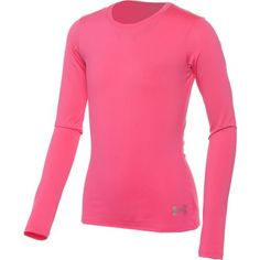 Under Armour® Girls' HeatGear® Sonic Long Sleeve T-shirt