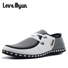 brand new bbe7e dee65 Love Myun Men s Flats Boat Shoes. Scarpe Di ...