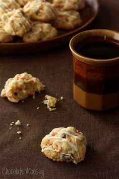 Crunchy on the outside, soft on the inside, these Carrot Cake Drop Cookies make it easy and fun not only to eat your vegetables but also to eat carrot cake on the go.