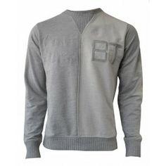 BOLONGARO TREVOR REVERSE CREW (LIGHT GREY) Sale £35 Grey, Long Sleeve, Sleeves, Sweaters, Mens Tops, T Shirt, Fashion, Ash, Supreme T Shirt
