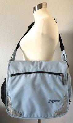 JANSPORT Messenger Laptop Bag-CrossBody-School Bag-Organizer-Reflective-Features #JanSport #LaptopBag