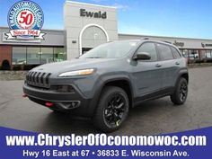 2015 Trailhawk   Click Here For More Information And Stop By Ewald Chrysler  Jeep Dodge Ram Of Oconomowoc Today!