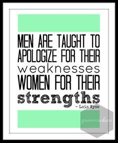 Strength VS Weakness