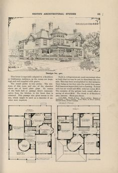 Vintage Architecture, Historical Architecture, Classical Architecture, Architecture Drawings, Interior Architecture, Home Design Plans, Plan Design, Abandoned Houses, Old Houses