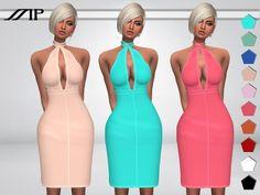MP Hally's Dress at TSR via Sims 4 Updates