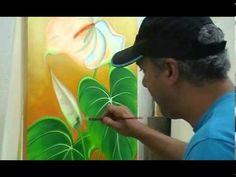 Como Pintar : Arara - YouTube