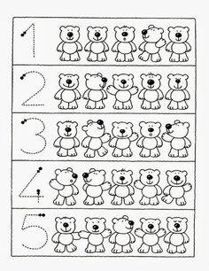Crafts,Actvities and Worksheets for Preschool,Toddler and Kindergarten.Lots of worksheets and coloring pages. Numbers Preschool, Math Numbers, Kindergarten Worksheets, Learning Activities, Preschool Activities, Kids Learning, English Activities, Math For Kids, Math Lessons
