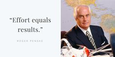 """""""Roger Penske turned a passion for cars into a career, & encourages young people to pursue their own dreams Global Supply Chain, Used Trucks, Career Opportunities, Equality, Encouragement, Social Equality, Equation"""