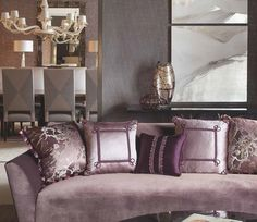 The Palais Collection of silk passementerie from Samuel and Sons. www.samuelandsons.com