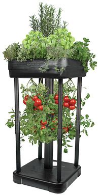 For small spaces like balconies this might be a easy, small investment to start growing some veggies.