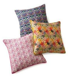 liberty pillows from Barney's