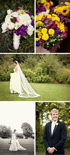 Purple, Yellow, and Green, Tennessee Wedding | WeddingWire: The Blog
