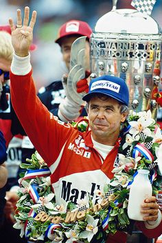 Brickyard Savant and All-Around Class Act: Rick Mears Indy Car Racing, Indy Cars, Indy 500 Winner, Band On The Run, Race Around The World, Race Party, Indianapolis Motor Speedway, Sports Personality, Car And Driver