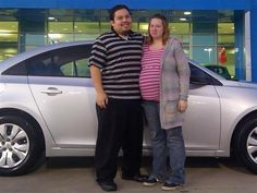 ANTONIO AND CHRISTINA's new 2015 CHEVROLET CRUZE! Congratulations and best wishes from Orr Chevrolet and WESTON FROST.