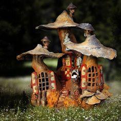 Fairie Mushroom House
