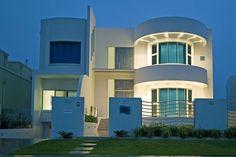 #casa líneas curvas