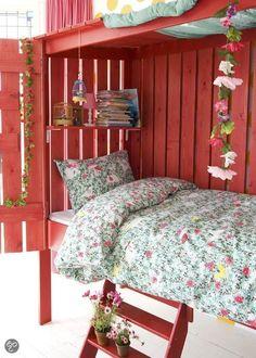 Leuk idee voor slaapkamer voor meisjes! #Girls #Bedroom
