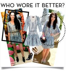 Who Wore It Better? Lily Collins vs. Kristen Stewert! Comment Bellow On Who You Think Wore It Better!
