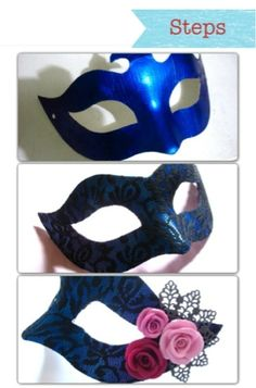 Confessions of a Chronic Crafter: Trash to Treasure DIY: How to make a masquerade mask