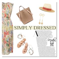 """Simply!"" by tatajrj ❤ liked on Polyvore featuring Ancient Greek Sandals, Mulberry, Rochas, Accessorize and Marni"