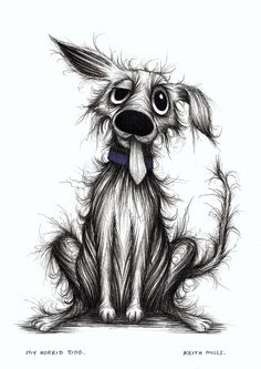 My horrid dog by Keith Mills.