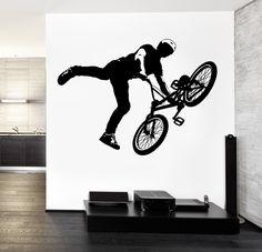 Wall Decal Vinyl Sticker Bike BMX Extreme Sport z3213