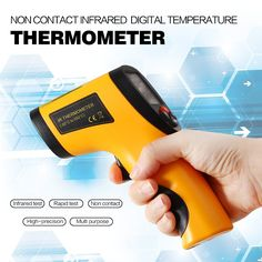 Promotion! Non-Contact IR Infrared Thermometer LCD Display Digital Temperature Gun Temp Thermometer Laser Handheld