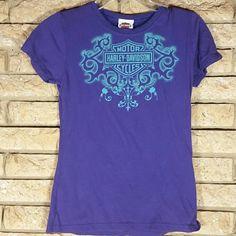 Harley Davidson Purple Shirt, medium Harley Davidson Purple Shirt, medium Harley Davidson  Tops Tees - Short Sleeve