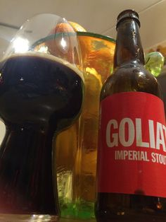To Øl Goliat Imperial Stout