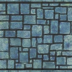 Nicholas Balm - Handpainted Mixed Brick Texture