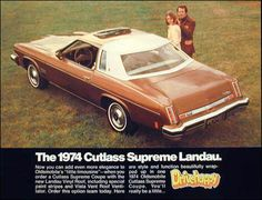 1974 Oldsmobile Cutlass Supreme   Our old family car!