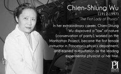 Chien-Shiung Wu - Physics