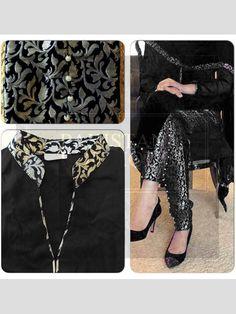 Black Color Bollywood Replica Designer Party Wear Dress in Bangalore Silk