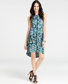 Petite Garden Floral Dress