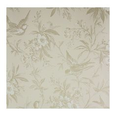 Thibaut Chelsea Morning Toile Wallpaper ($62) ❤ liked on Polyvore featuring home, home decor, wallpaper, fabric wallpaper, thibaut, branch wallpaper, bird wallpaper and thibaut wallpaper