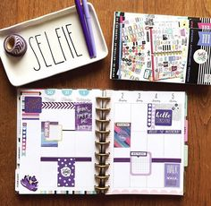 CLASSIC Happy Planner page idea