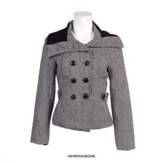 I found this amazing Women's Hip Herringbone Peacoat at nomorerack.com for 76% off. Sign up now and receive 10 dollars off your first purchase