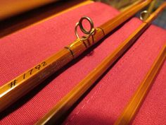 """R.W. Summers Model 275, 7' 6"""", # 4 line, 2 tips, bag and tube. I built this rod in 1992."""